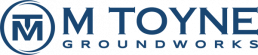 M Toyne Groundworks Logo